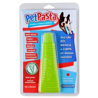 Brinquedo Mordedor Pet Pasta Pet Games Grande Verde