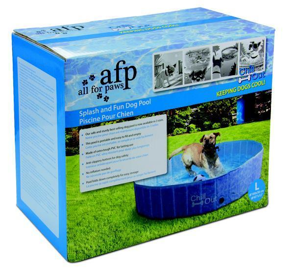 PISCINA PARA CÃES GRANDE - CHILL OUT SPLASH AND FUN DOG POOL