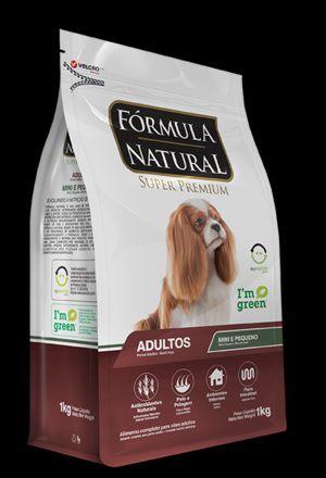 RAÇÃO ADIMAX FORMULA NATURAL ADULTO RAÇAS MINI/PEQUENAS 7 kg
