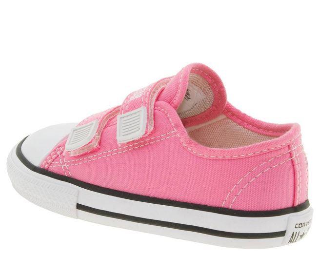 a9d36ab7ea0 Tênis Infantil Baby Rosa All Star Converse - CK0508 - Calçapé Calçados