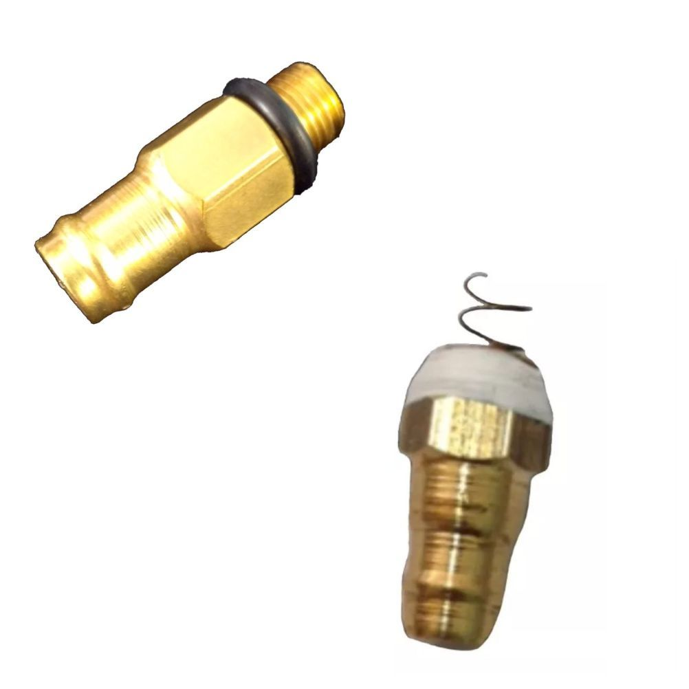 1 Adaptador Bico de Chopp + 1 Válvula de Retenção