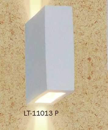 ARANDELA DENEB VERTICAL 2 FOCOS FE/FE  BRANCA - LT-11013P LUSTRE TROPICAL