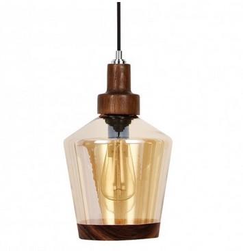 Pendente Lampo Ambar com revestimento a vapor E27 - New Line Imports - 462