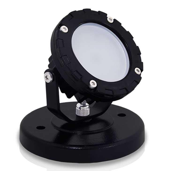 SPOT BASE 10 DIRIGÍVEL LED 10W 90G BIVOLT IP65 - ILUCTRON