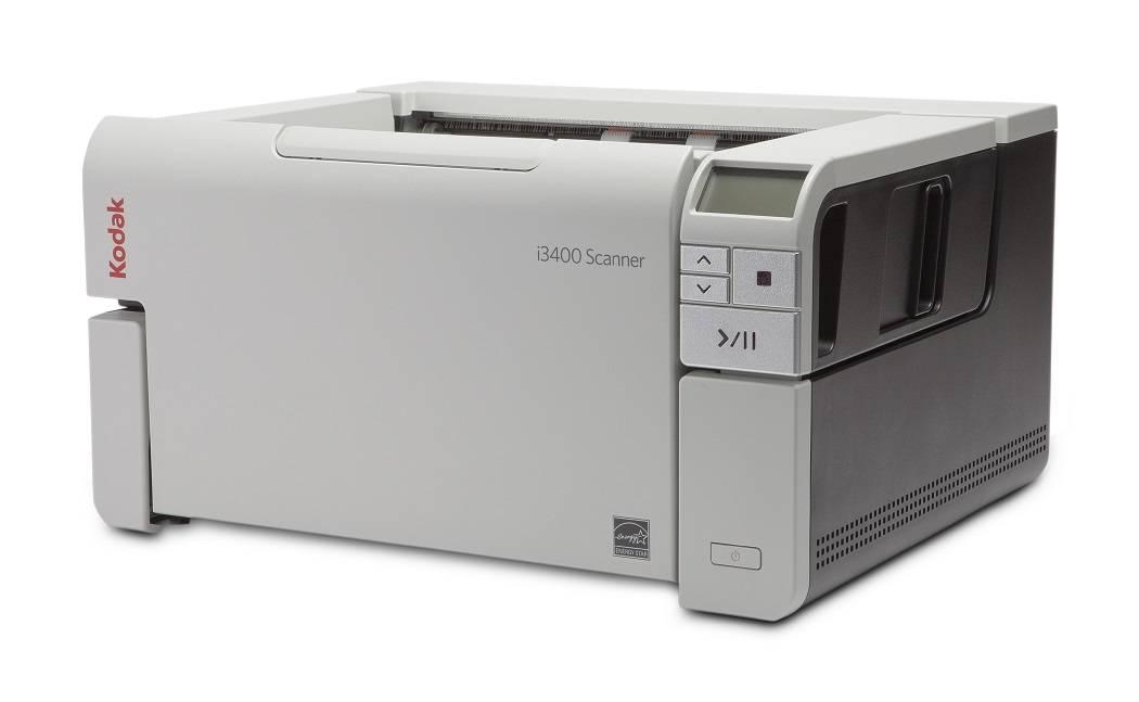 Scanner A3 Kodak i3200 - 50 ppm, ADF para 250 folhas e Ciclo de 20000 folhas/dia