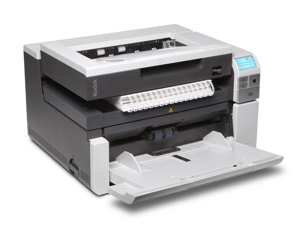 Scanner A3 Kodak i3250 c/ Mesa A4 - 50 ppm, ADF para 250 folhas e Ciclo de 15000 folhas/dia