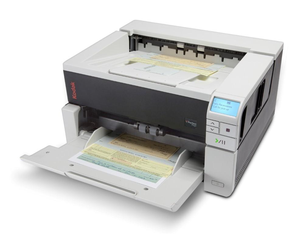 Scanner A3 Kodak i3400 - 90 ppm, ADF para 250 folhas e Ciclo de 30.000 folhas/dia