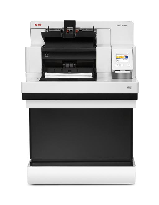 Scanner A3 Kodak i5850S - 210 ppm, ADF para 750 folhas e Ciclo diário: Sem limite