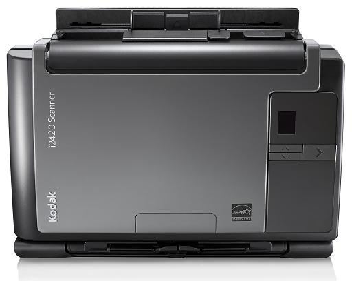 Scanner A4 Kodak i2420 - 40 ppm, ADF para 75 folhas e Ciclo de 5000 folhas/dia