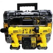 COMBO DCD700 + DCF805, 2 BAT, CARREG. E MALETA (DEWALT DCK201C2-B2)
