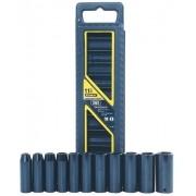 """Jogo de soquetes de impacto em polegadas (encaixe 1/2"""") - 11 peças (Stanley 97-125)"""