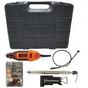 Kit micro retífica com 113 acessórios - RT18KA