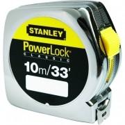 Trena  Stanley PowerLock 10 m (Stanley 33-463S)