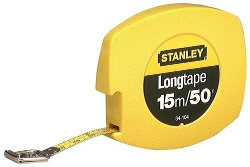 Trena Longa de Aço 15m (Stanley 34-104S)