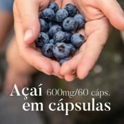 Açaí 500 mg - 60 Cápsulas