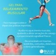 Gel para relaxamento muscular 100 g