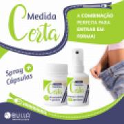Kit Medida Certa - 60 Cápsulas e 50 ml Spray Bucal com Gynema