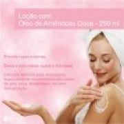 Loção com Óleo de Amêndoas Doce - 250 ml