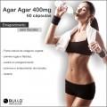 Agar Agar 400 mg - 60 cápsulas  - Bulla Farmácia de Manipulação