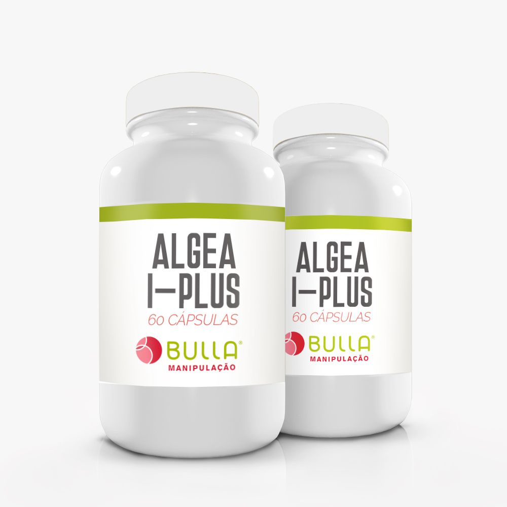 Algea I-Plus 400mg 60 Cápsulas