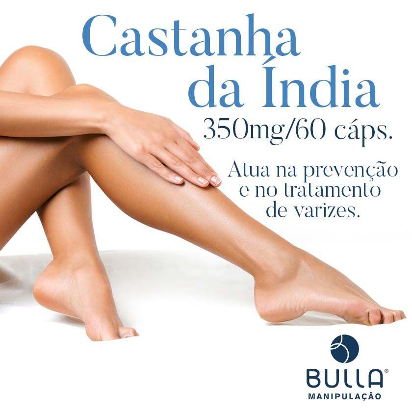 Castanha da Índia 350 mg - 60 cápsulas   - Bulla Farmácia de Manipulação
