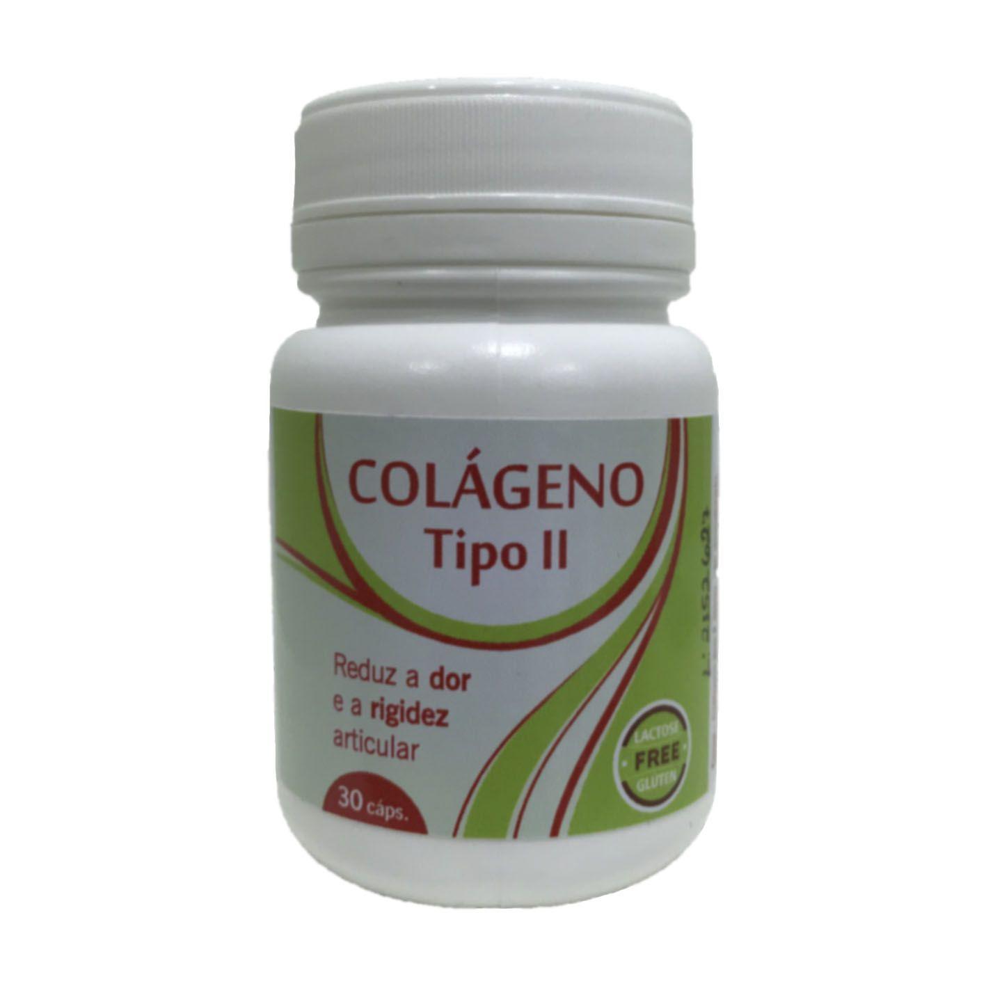 Colágeno Tipo II - 30 cápsulas   - Bulla Farmácia de Manipulação