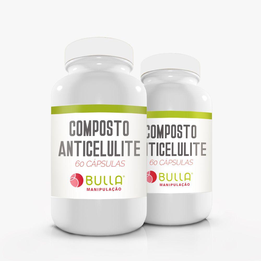 Composto Anticelulite - 60 cápsulas  - Bulla Farmácia de Manipulação