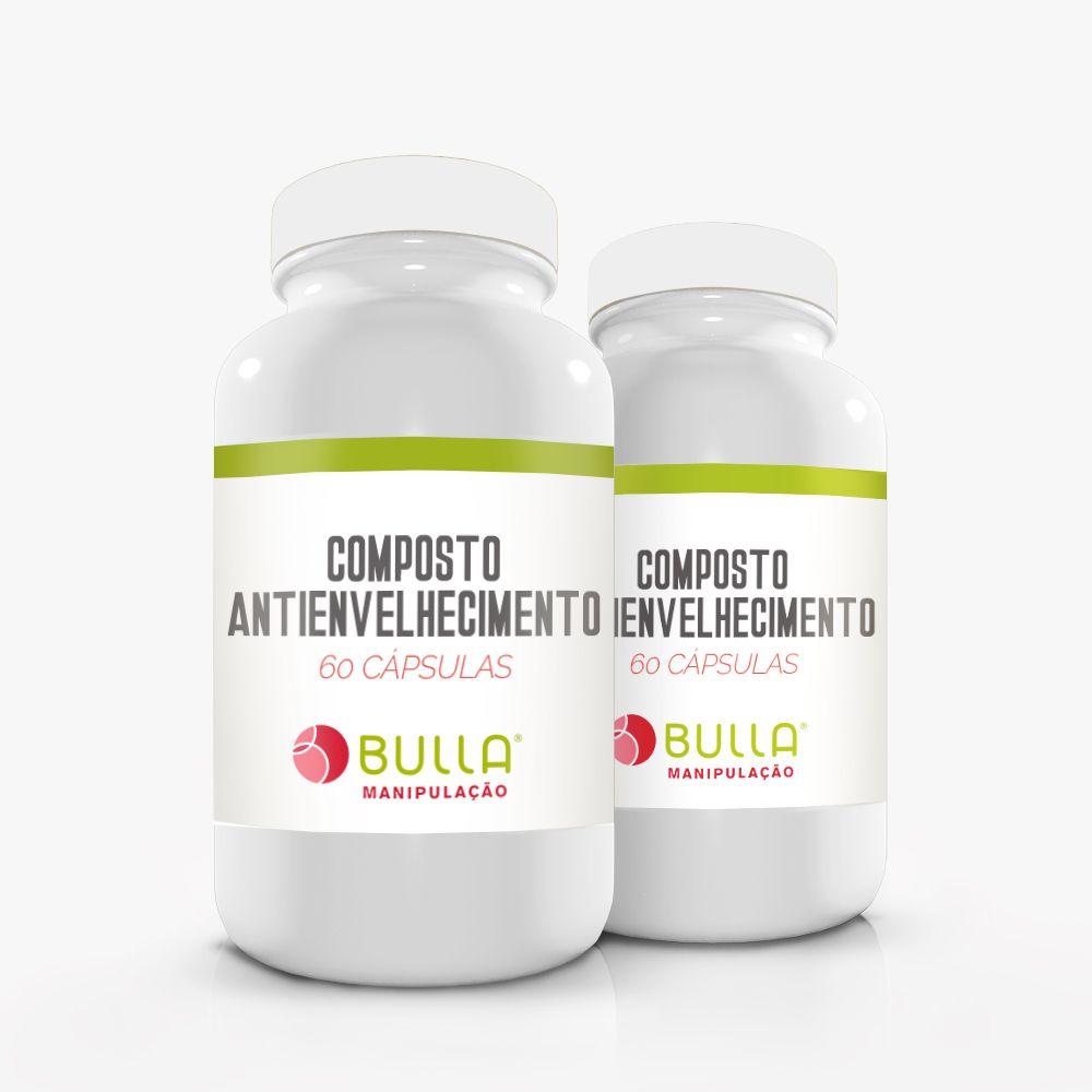 Composto Antienvelhecimento - 60 cápsulas