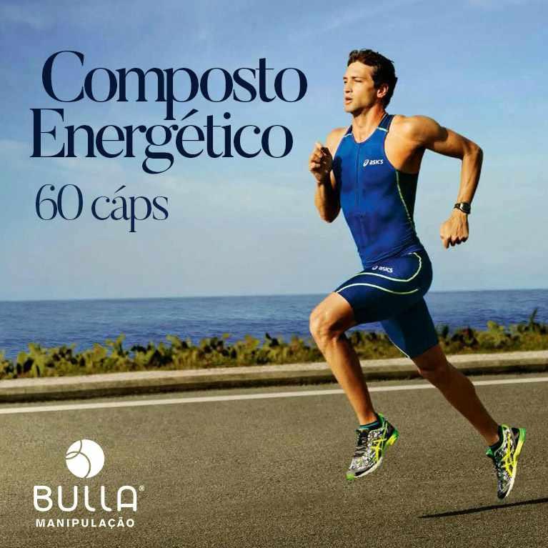 Composto Energético - 60 cápsulas