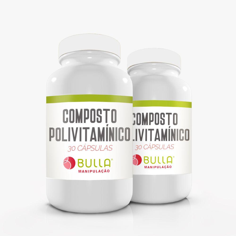 Composto Polivitamínico - 30 cápsulas