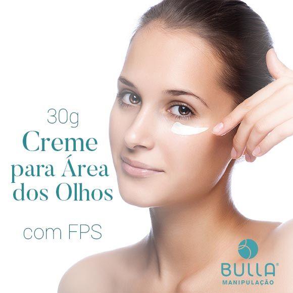 Creme Área dos Olhos com FPS - 30 g  - Bulla Farmácia de Manipulação