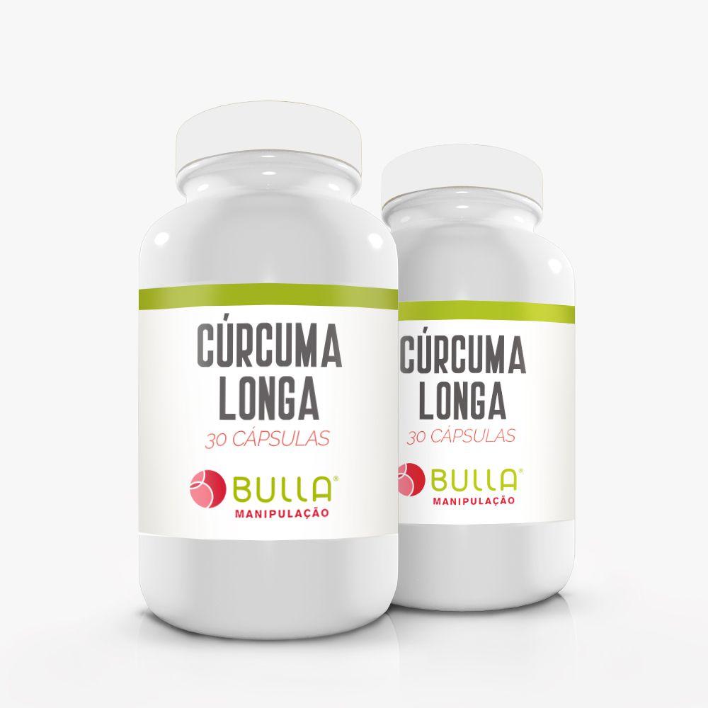 Cúrcuma Longa 300mg  - Bulla Farmácia de Manipulação