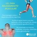 Gel para relaxamento muscular 100 g   - Bulla Farmácia de Manipulação