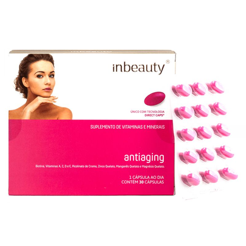 Inbeauty - Antiaging 500mg  - Bulla Farmácia de Manipulação