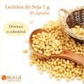 Lecitina de Soja 1 g - 30 cápsulas  - Bulla Farmácia de Manipulação