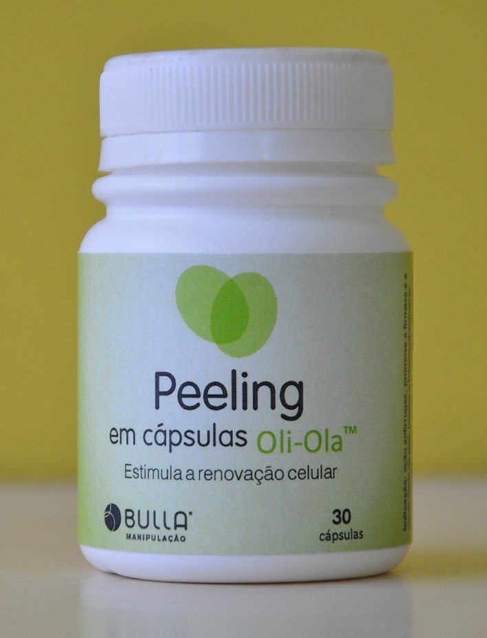 Peeling em Cápsulas Oli-Olá 30 cápsulas  - Bulla Farmácia de Manipulação