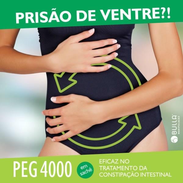 PEG 4000 10g  - Bulla Farmácia de Manipulação