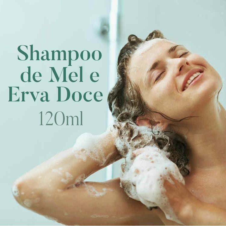 Shampoo Mel e Erva Doce  - Bulla Farmácia de Manipulação