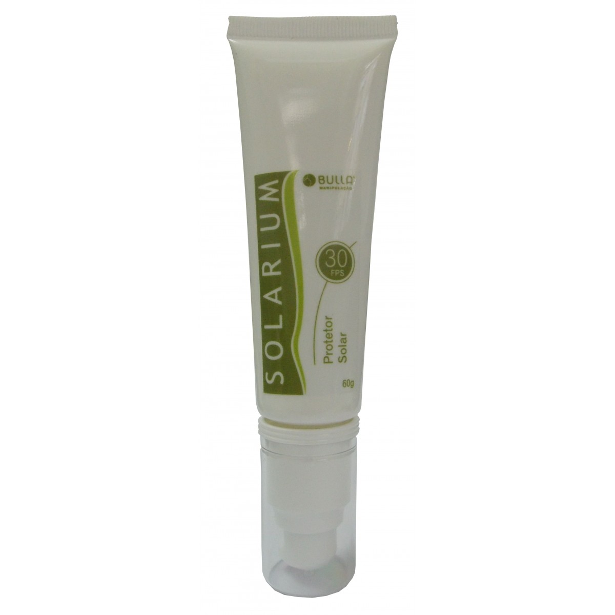 Solarium Protetor Solar  FPS 30 - 60 ml  - Bulla Farmácia de Manipulação