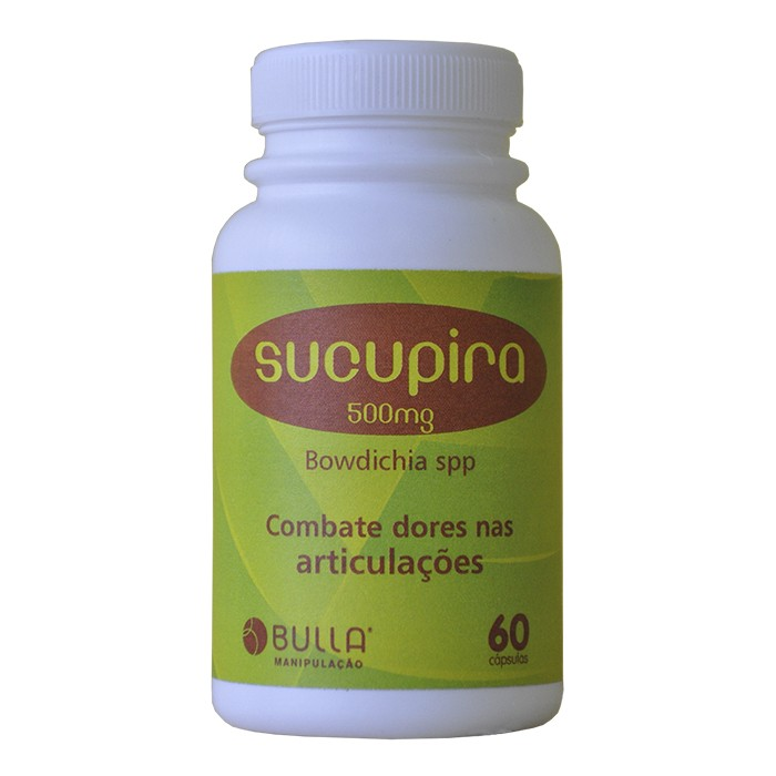 Sucupira 500 mg - 60 Cápsulas