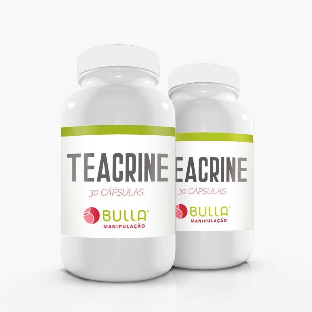 Teacrine 200mg - 30 cápsulas