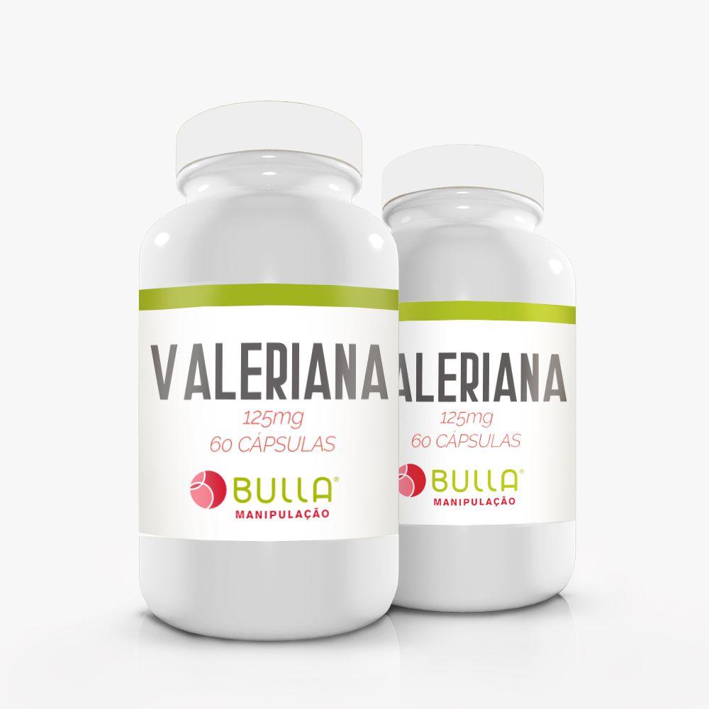 Valeriana 125 mg - 60 cápsulas  - Bulla Farmácia de Manipulação
