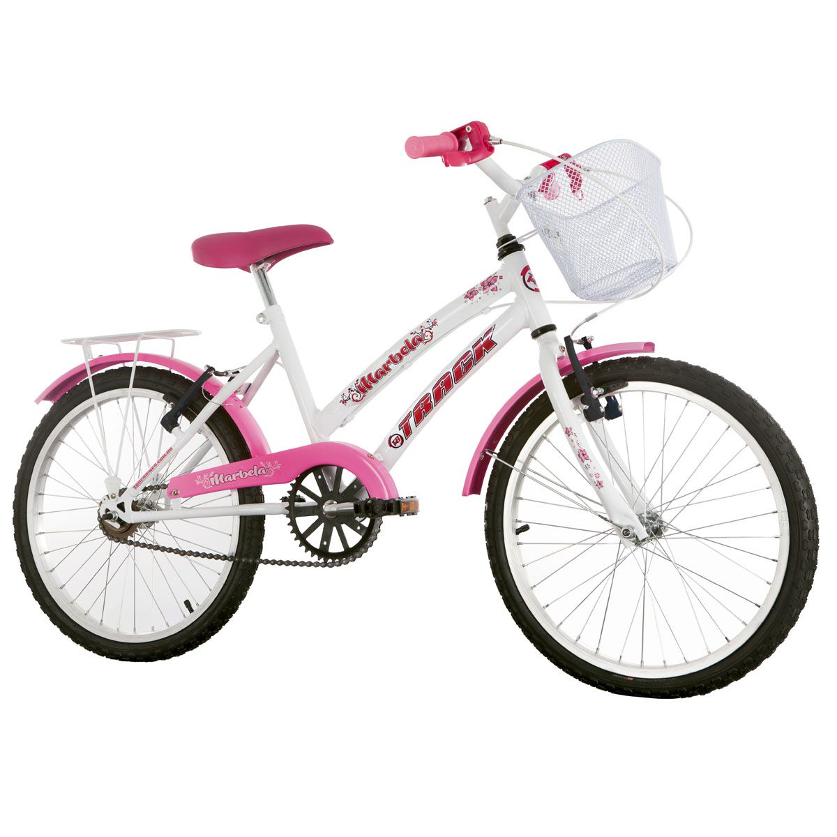 Bicicleta Aro 20 Track Marbela Infanto Juvenil Feminina