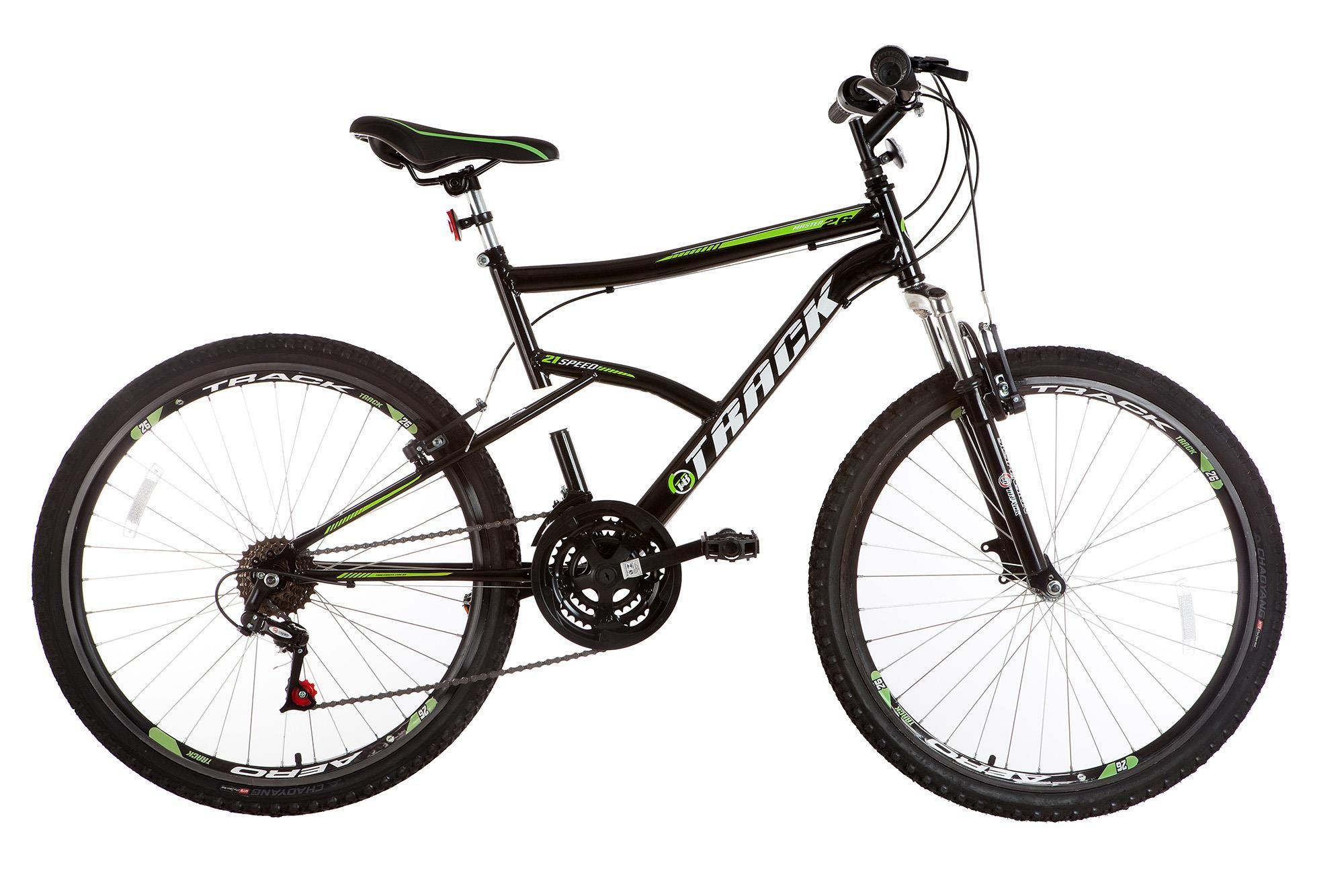 Bicicleta Aro 26 Track Master - 21 V Adulto Lazer com suspensão