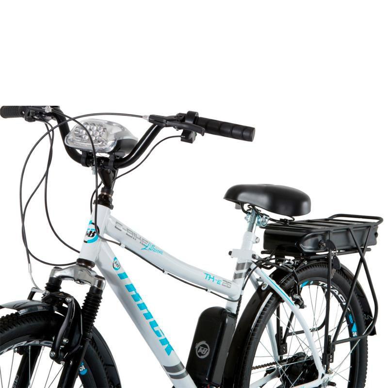 Bicicleta Elétrica Track Bikes Urbana Aro 26 Lithium - TKE 26 W