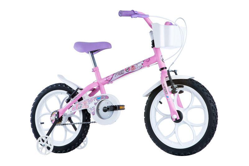 Bicicleta Track Bikes Pinky Infantil Aro 16 Seminova