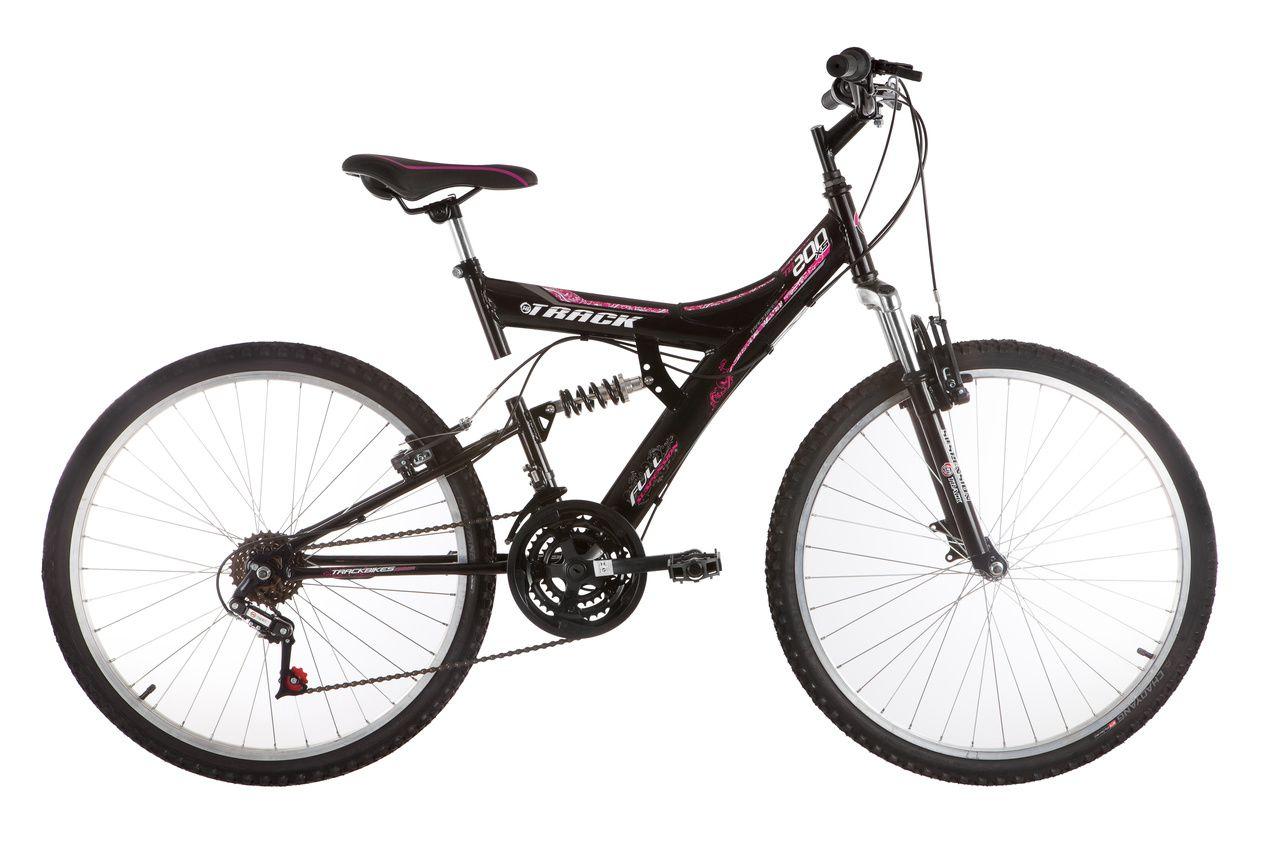 Bicicleta Track Bikes TB 200 Mountain Bike Aro 26 Seminova