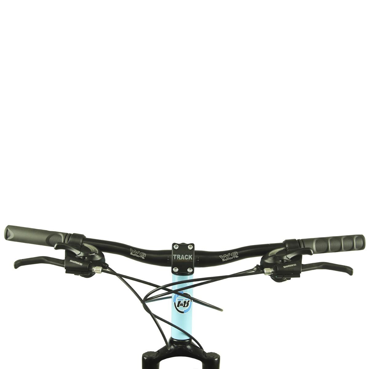Bicicleta Track & Bikes Aro 29 TKFM 29 21 Marchas Suspensão Dianteira Quadro em Alumínio Freio à Disco