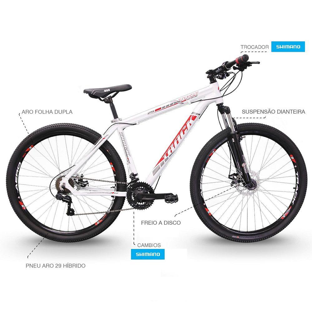 Bicicleta Track Bikes  TKS 29 Mountain Bike Aro 29 Seminova