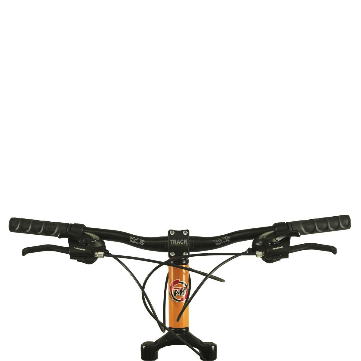 Bicicleta Track & Bikes Aro 29 TKS 29 21 Marchas Suspensão Dianteira Quadro em Alumínio Freio à Disco
